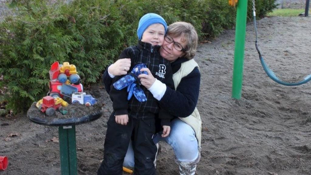 MISTER PLASSEN: Aleksander (4) mister plassen sin i Sofienbergparken barnepark torsdag kveld hvis ikke Bydelsutvalget ombestemmer seg.