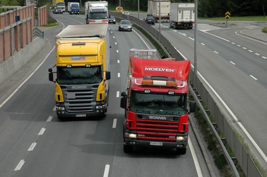 En polsk lastebilsjåfør får ikke kjøre mer i Norge etter han ble tatt for fyllekjøring da han kjørte av Kiel-fergen.