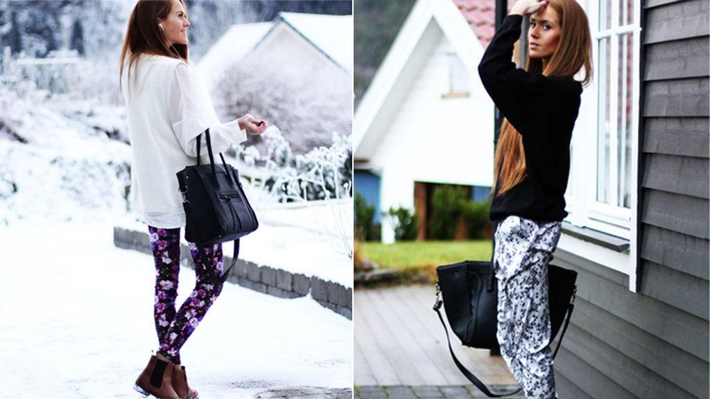 KRISTINE ULLEBØ lar ikke vinterkulden gå ut over stilen. - Jeg har fått sansen for å pynte meg på søndager. I behagelige klær da, vel og merke. Elsker dette leopardprintede skjørtet, skikkelig comfy og deilig. Og ja - jeg har på meg strømpebukse, skriver hun på bloggen sin.