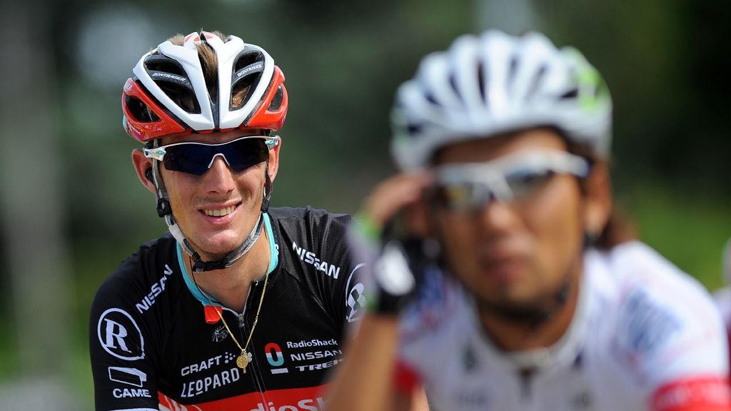 IKKE TDF-FAVORITT: Det er langt frem til Tour de France for Andy Schleck som vil være i godt gammelt slag i Liege-Bastogne-Liege.