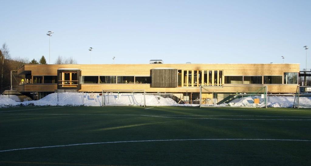 Det etterlengtede klubbhuset til Lyn er snart klart for åpning i februar.