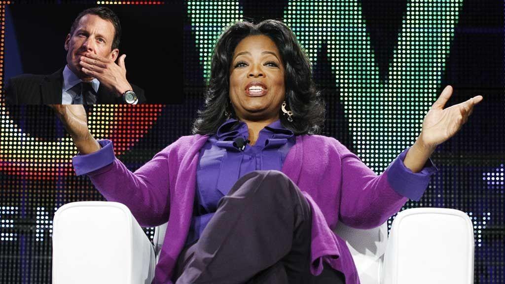 SPØR HUN DET RIKTIGE?: Oprah Winfrey skal spørre Lance Armstrong om hans mørke fortid.