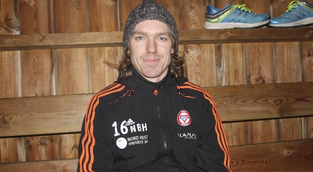 TILBAKE: Etter å ha vært skadet store deler av fjorsesongen gleder Nikolai Hagen seg til at KFUM Oslo skal forsøke å gjøre seg bemerket helt i toppen av andredivisjon. Foto: Alice Johansen