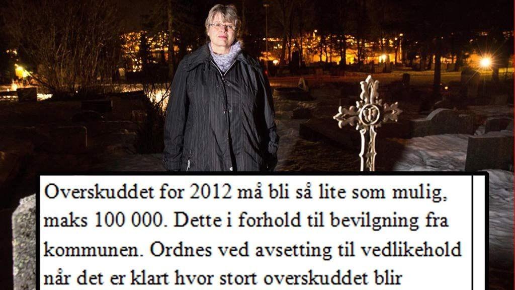 kirkeverge Kristin Stang Meløe