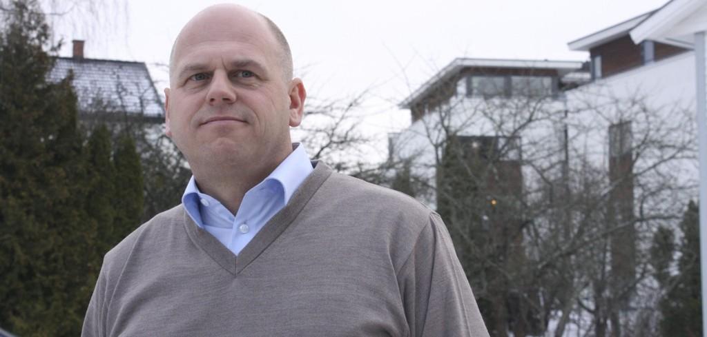 NORDSTRANDMEGLER: Carl Fredrik Sønsteby har solgt boliger i Nordstrand bydel i snart 20 år. Han beskriver området som veldig stabilt, men tror vi får et roligere boligmarkedet i årene fremover etter flere år med voldsom prisvekst.