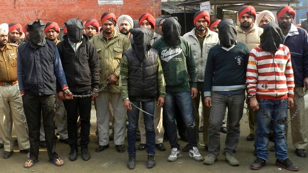 India voldtekt pågrepet siktet