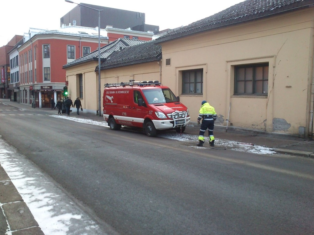Brann- og redningsetaten: Sprengkulda fører til frosne rør og vannlekkasjer Illustrasjonsfoto: Trine Solberg