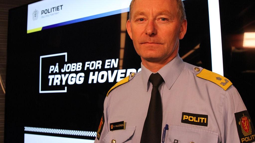 VISEPOLITIMESTER: Hans Halvorsen i Oslo politidistrikt er opptatt av at ofre som blir utsatt for overfallsvoldtekt kommer seg raskt til legevakten eller til politiet for å sikre DNA.