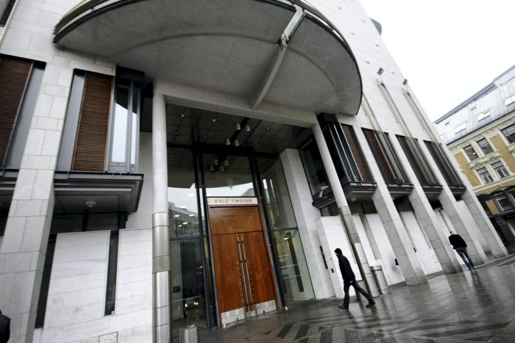 DØMT: Fem menn ble dømt i Oslo tingrett.