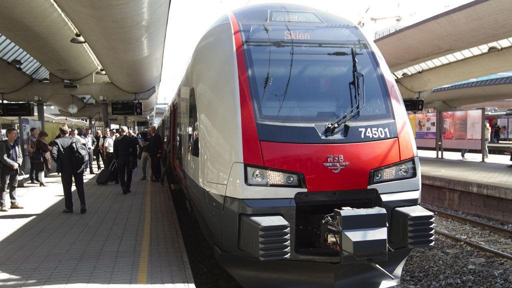 NSB tok i bruk nye FLIRT-tog onsdag