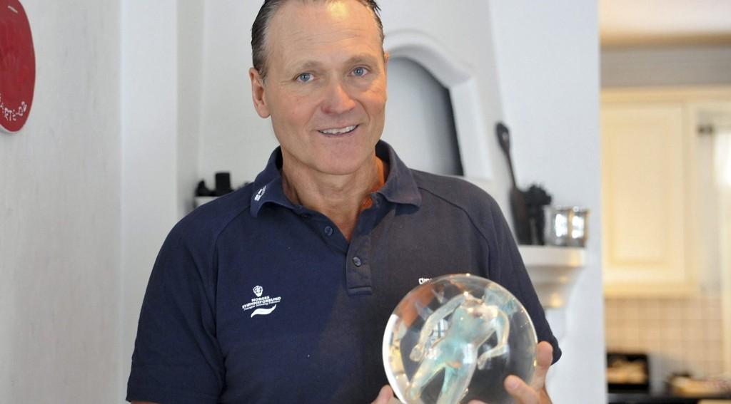 STOLT VINNER: Petter Løvberg ble kåret til årets trener på Idrettsgallaen. FOTO: SOLFRID THERESE NORDBAKK