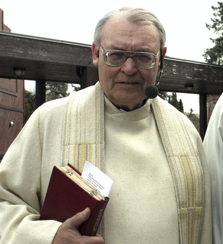 MANGE ÅR: Den populære prosten Tore Kopperud avslutter snart sin lange gjerning.