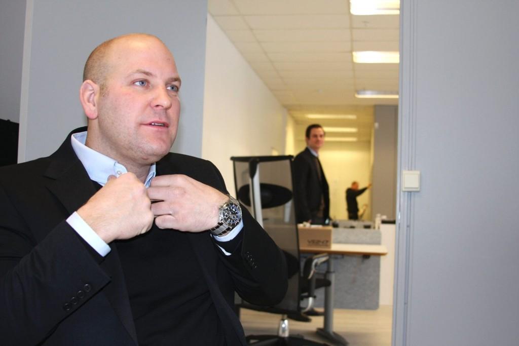 Sammen med tre andre åpner Jon Terje Kristiansen nytt Privatmegleren-kontor på Linderud senter nå i januar.
