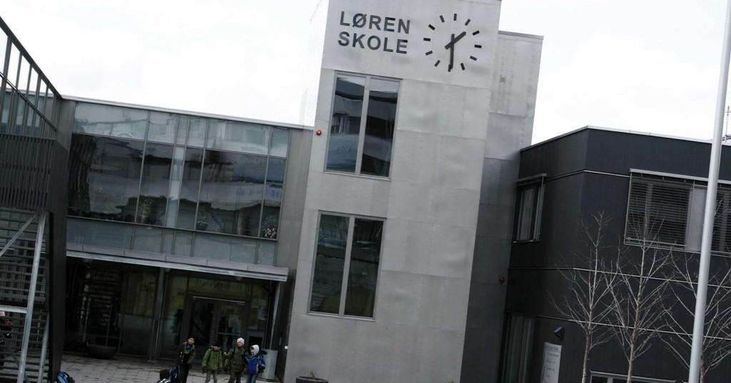 OSLOSKOLE: Løren skole. ARKIVFOTO