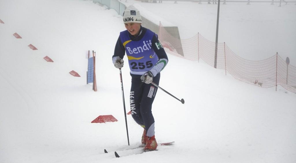 TUNG BAKKE: Wilhelm Moe slet seg opp bakken og gjennomførte et veldig bra renn i Holmenkollen lørdag.ALLE FOTO: Marius Kaniewski