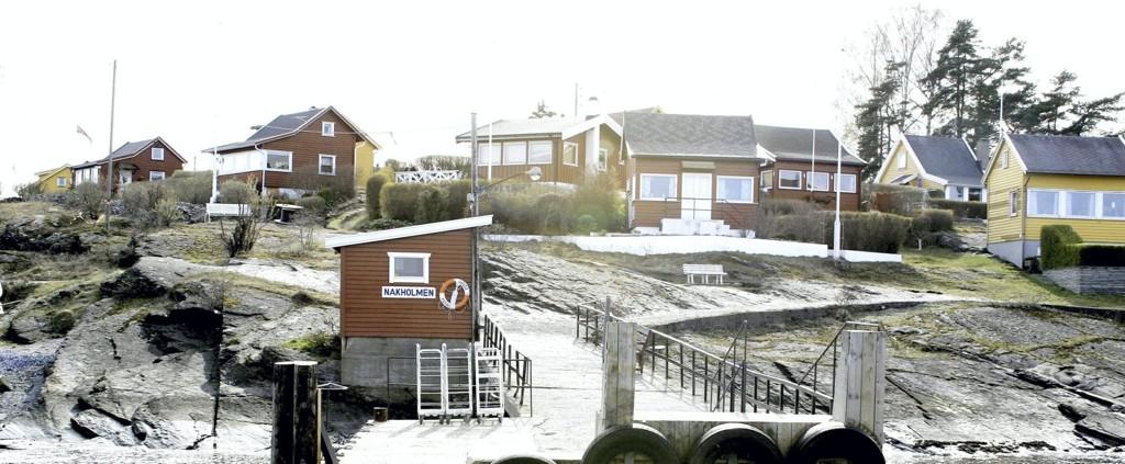 MARITIM IDYLL: Når en hytte i indre Oslo-fjord, som her på idylliske Nakholmen, en sjelden gang legges ut for salg, vekker det enorm interesse. Arkivfoto: Nils Skumsvoll
