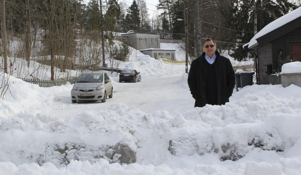 Lars Asbjørn Hanssen har som politiker kjempet for å få åpnet Ryghs vei i tråd med kommunens vedtak. Foto: Vidar Bakken