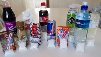sukkerknalder i sodavand
