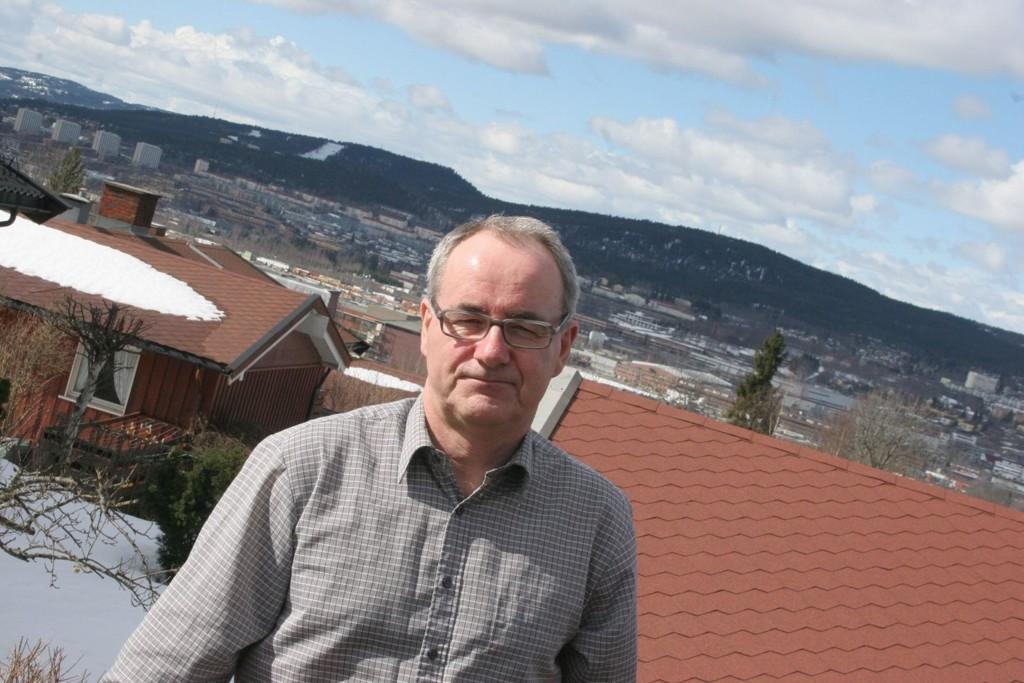 IKKE FRYKT: SV-politiker Ivar Johansen mener fremtidige beboere i Skogvollveien 35 må tas i mot med varme.