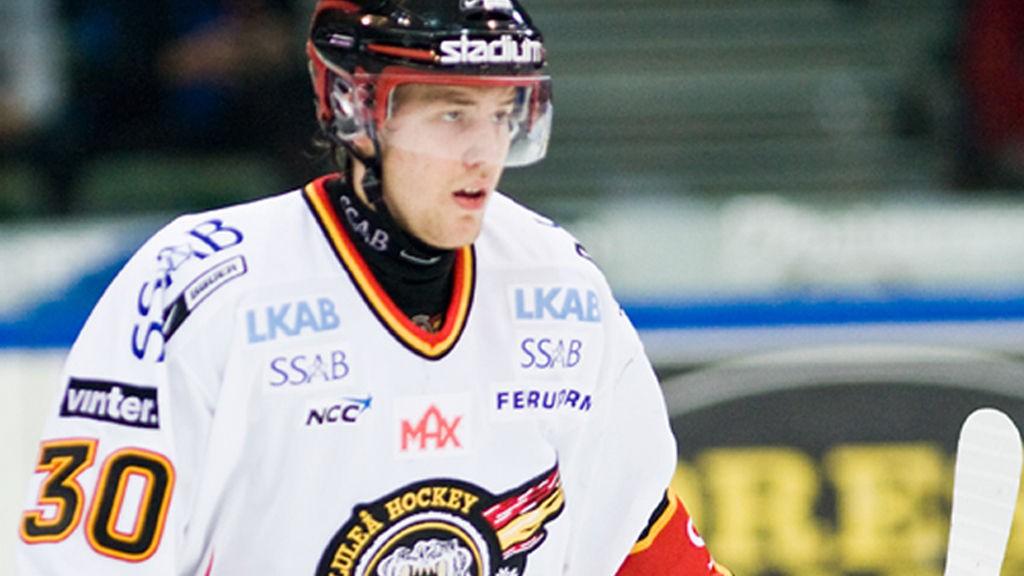 Linus Omark, Luleå HF, Elitserien 2008.