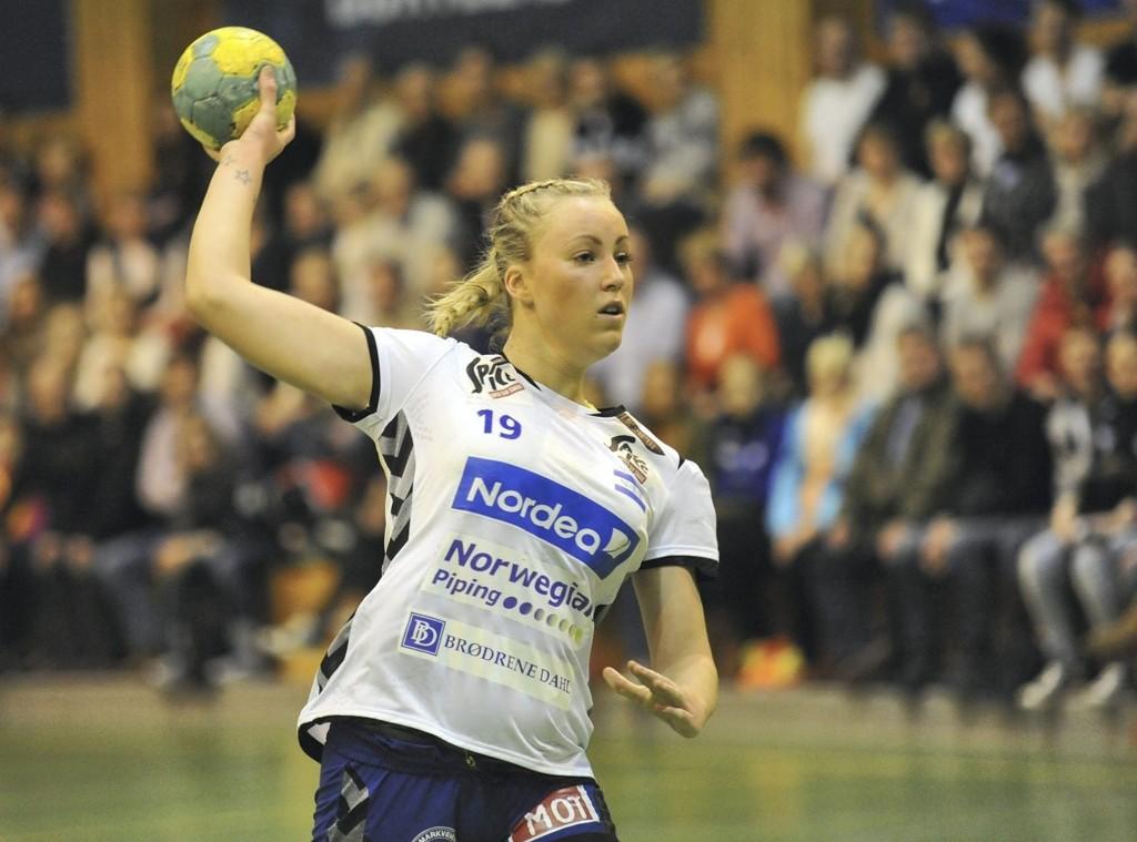 TILLIT: Mathilde Andresen har fått mer tillit denne sesongen, og 19-åringen har gjort det bras når hun har fått sjansen.