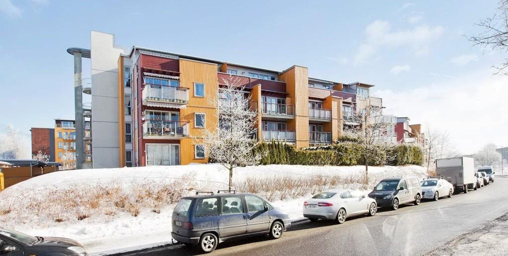 POPULÆRT: En leilighet i Lunden Hageby, ved Østre Aker vei, på 63 kvadratmeter ble nylig solgt for 3 300 000 kroner. FOTO: PRIVATMEGLEREN