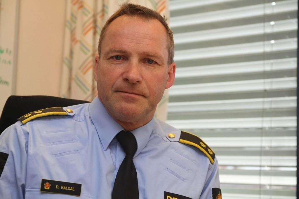 Politioverbetjent: Dagfinn Kaldal.