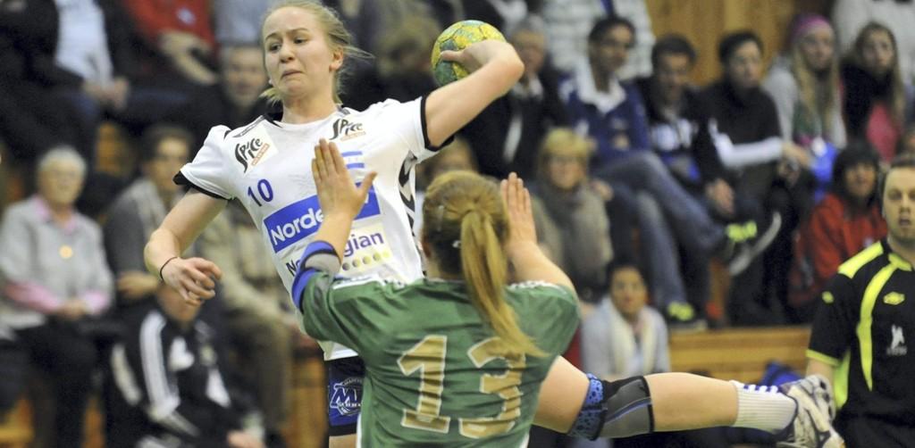 BYTTER KLUBB: Etter fire sesonger i Nordstrand har Tina Magnus valgt å fortsette karrieren i Oppsal hvos hun har skrevet under på en 3-årskontrakt. FOTO: Solfrid Therese Nordbakk