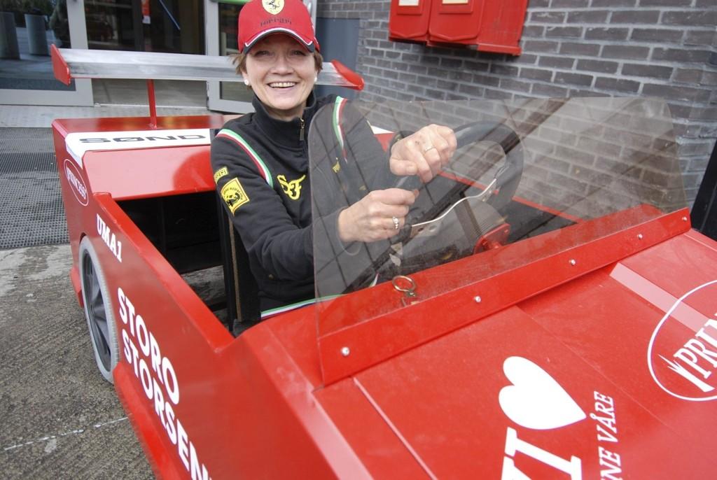 På fire hjul i svingene: Unni Merethe Aasgaard gleder seg til årets Nordberg Grand Prix. Foto: Elisabeth Wang