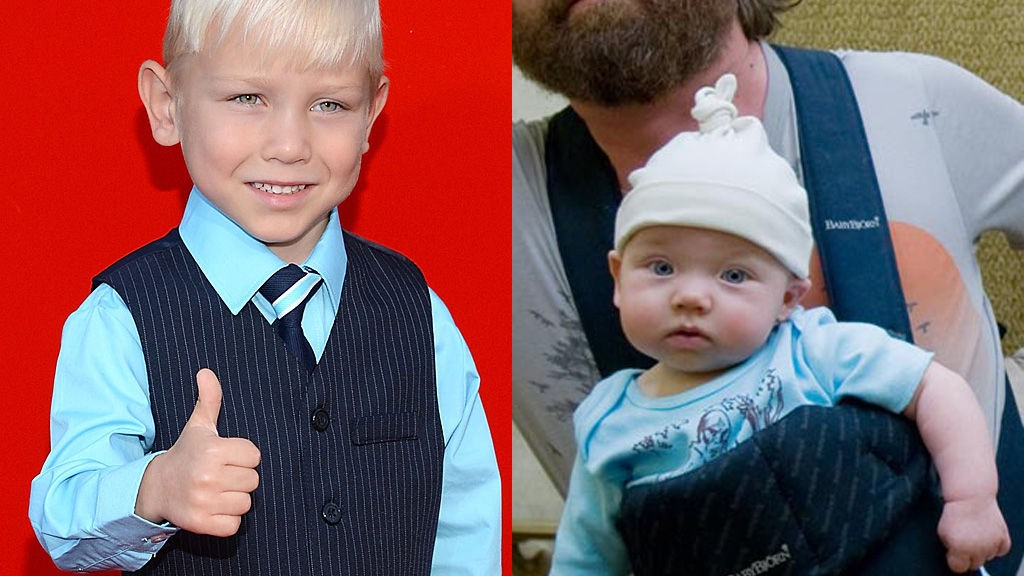 GRANT HOLMQUIST har fått samme rolle fire år etter at han spilte baby Tyler/Carlos for første gang.