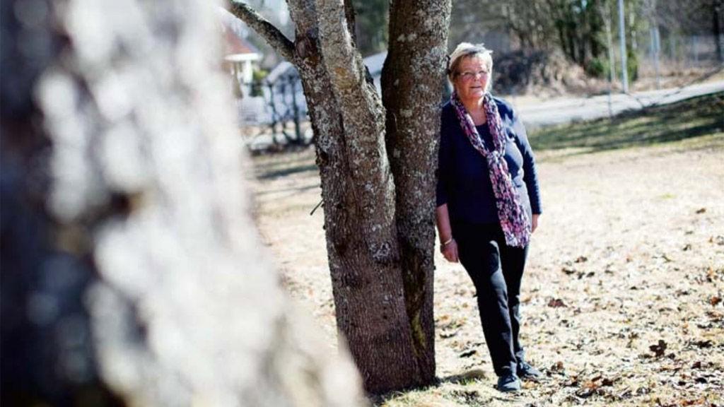 SAMTALER: Mari Heins (66) beste råd, er å snakke - med ektefelle, familie og venner.