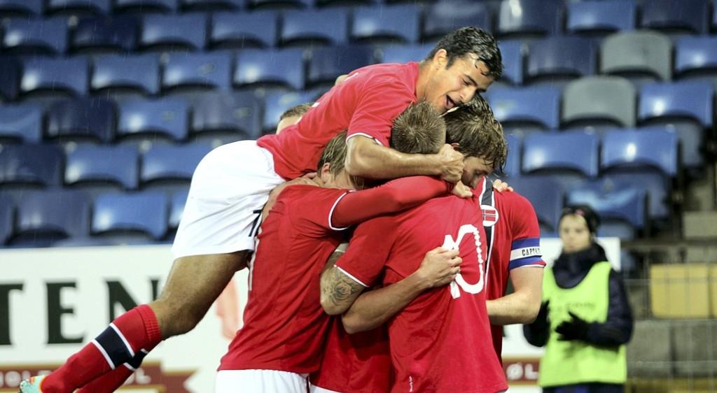 Harmeet Singh reddet Norge fra en krisestart på U21-EM onsdag. Her fra en tidligere landskamp.