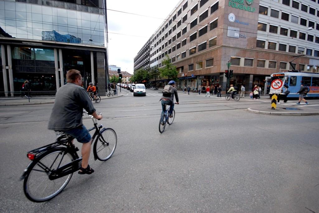 SKAL FRISKMELDES: Oslo har nå fått en egen sykkeldirektør, som skal bidra til å «friskmelde» sykkel-Oslo.