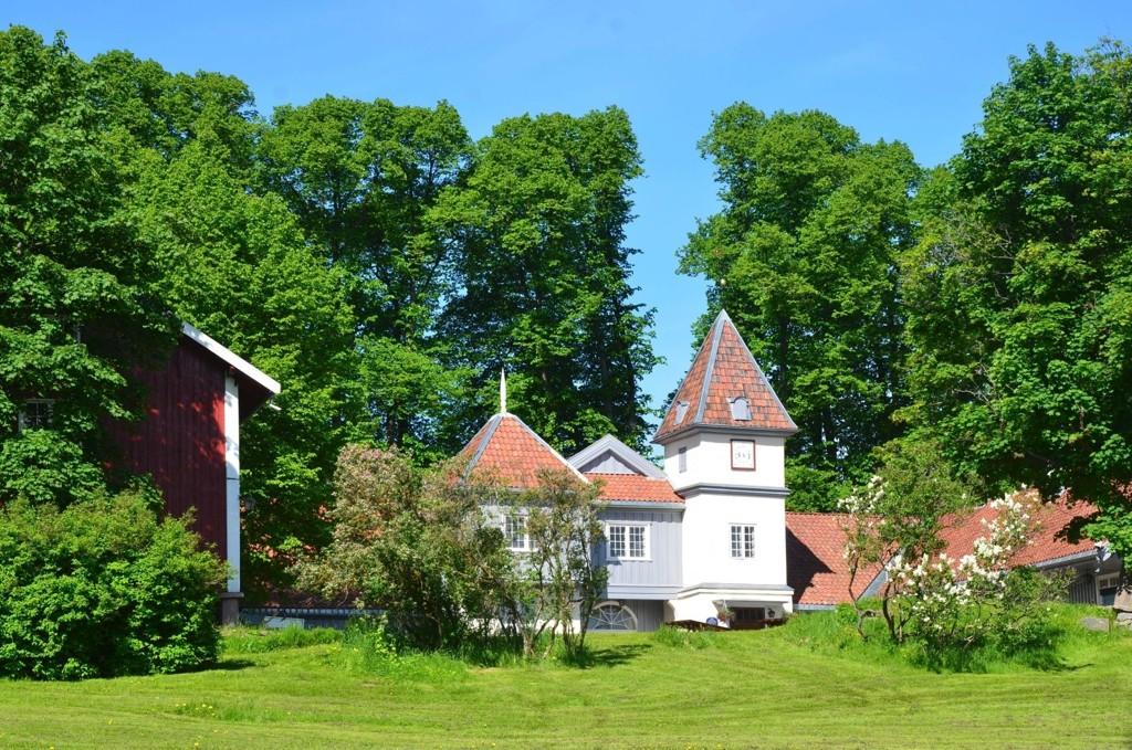 POPULÆRT SAMFUNNSHUS: Nordre Skøyen hovedgård brukes til bryllup og andre selskapeligheter.