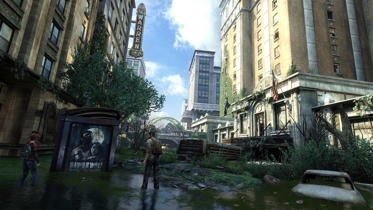 The Last of Us byr på spektakulære omgivelser.