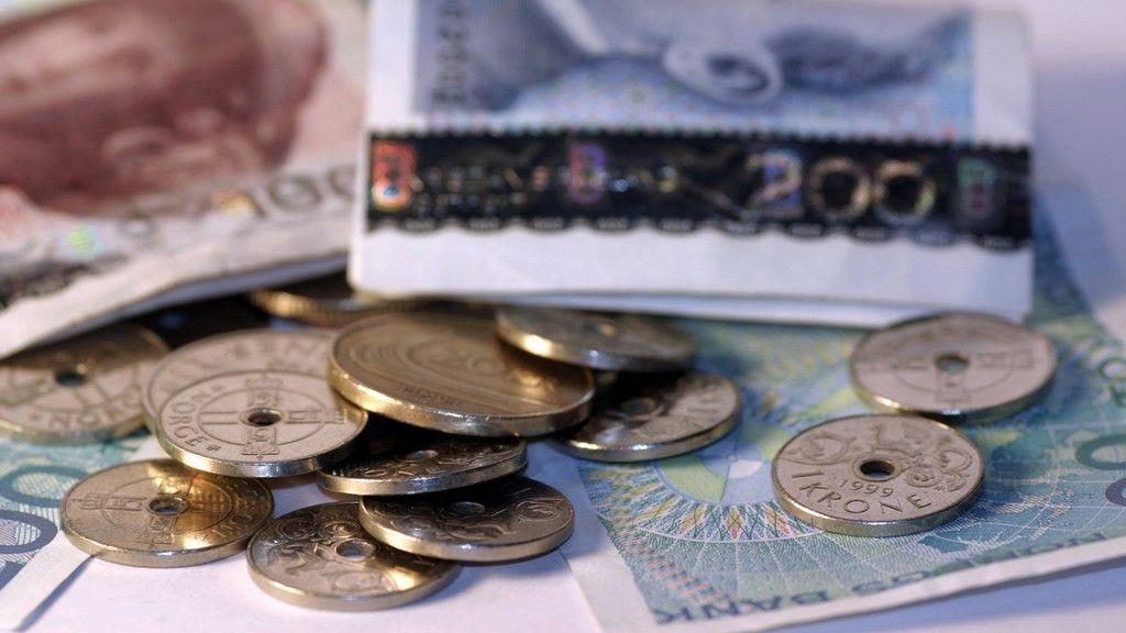 Penger sedler kroner krone seddel