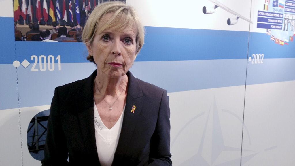 Forsvarsminister Anne-Grete Strøm-Erichsen, her i Brussel tidligere denne måneden.