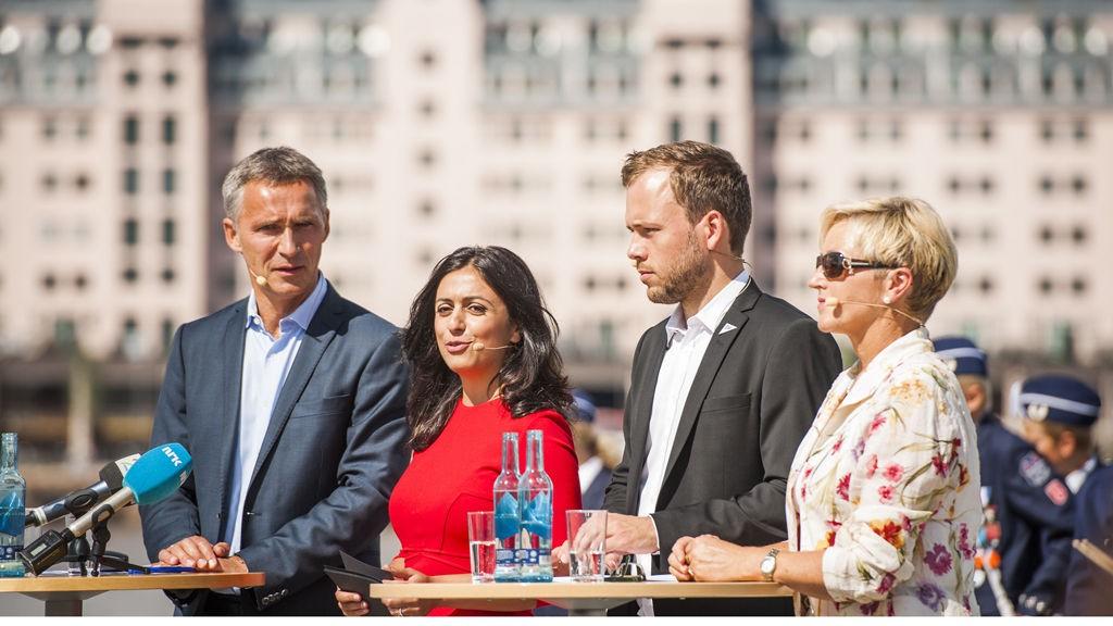 FLERE KOKKER, MER SØL. En meningsmåling viser at Jens Stoltenberg og Hadia Tajiks Ap ville fått større oppslutning ved å kutte samarbeidet med Audun Lysbakkens SV og Liv Signe Navarsetes Senterparti.