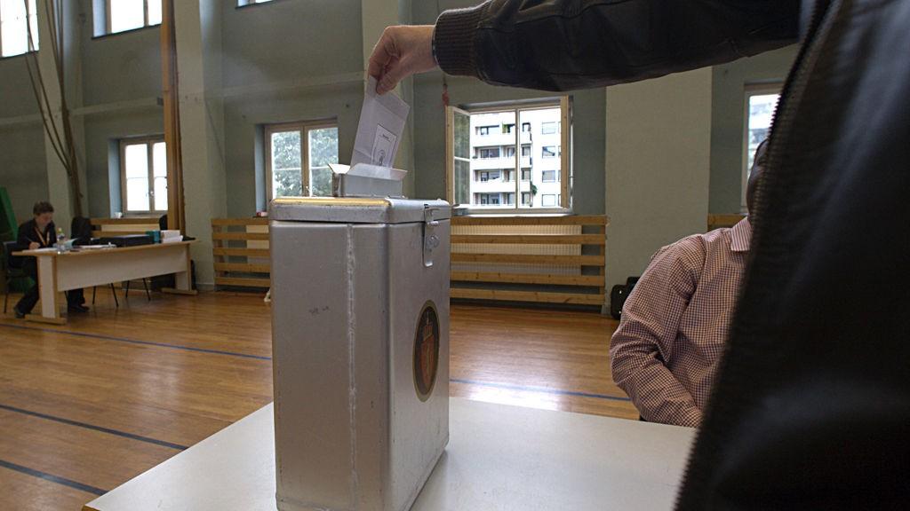 FORHÅDSSTEMMER MER. Ifølge nettstedet Poll of polls viser en sammenligning for Oslo at det så langt er avgitt omtrent dobbelt så mange forhåndsstemmer i hovedstaden som på tilsvarende tidspunkt for fire år siden.