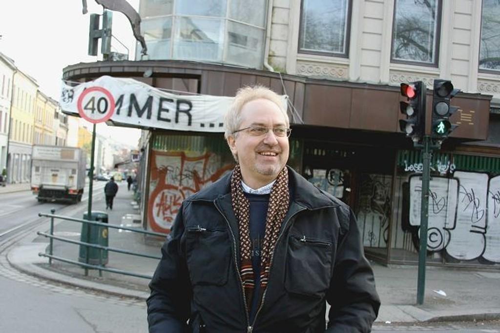 TREKKER SEG: Ulf Granli (H) trekker seg fra alle verv i Høyre etter avsløringene. Han er blant annet nestleder i bydelsutvalget på Grünerløkka.