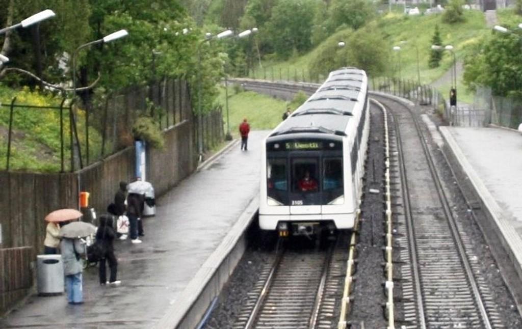 ENDELIG: Mandag åpnes Grorudbanen igjen etter å ha vært stengt i 12 uker.