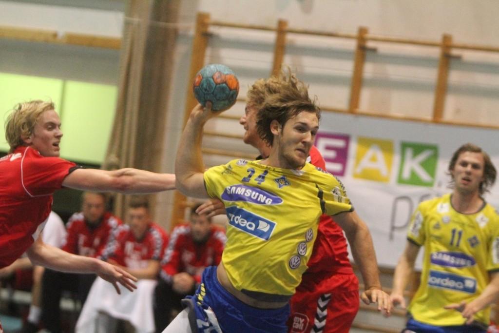 BEST: Christian O´Sullivan var best hos hjemmelaget med sine ti scoringer mot Kolstad.