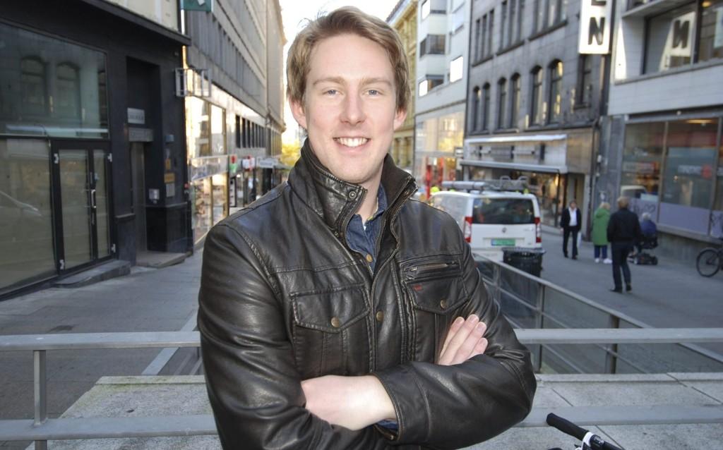 KJEMPER OM TITTELEN: Nordberg-gutten Aleksander Erichsen kjemper om tittelen Helt Sjef på Ledernes fagkonferanse på torsdag.
