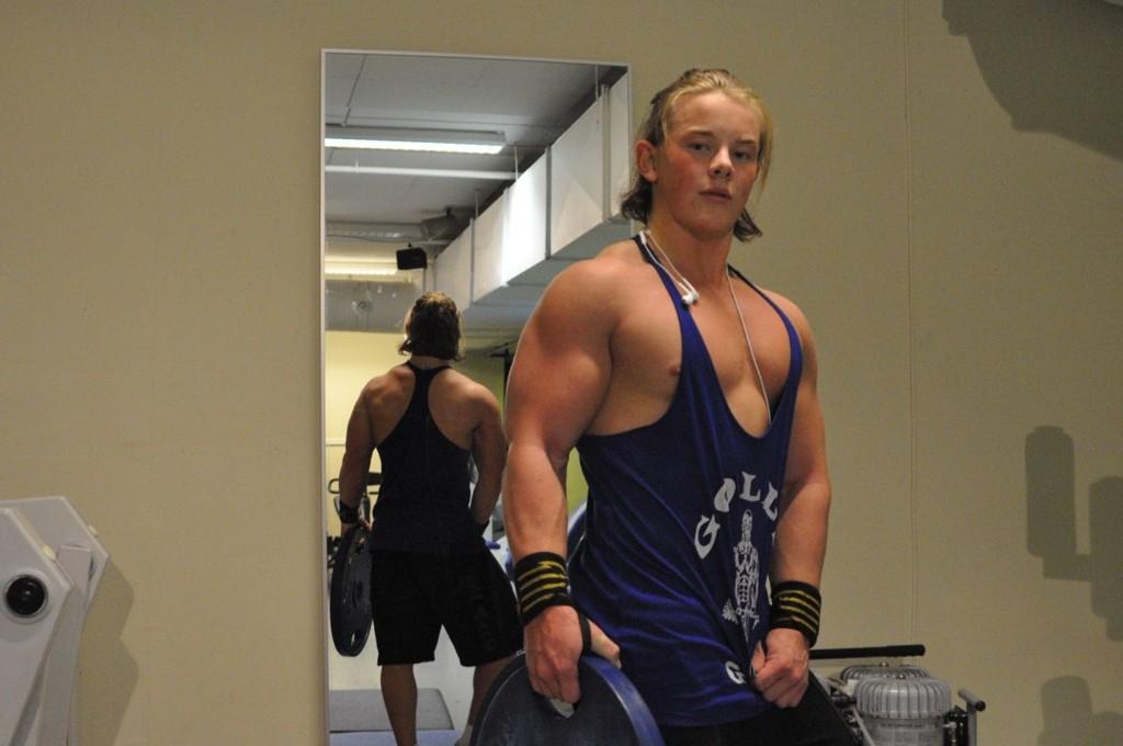 Anders gikk fra å hate trening til å elske det. Han er stolt over det han har fått til på så kort tid.
