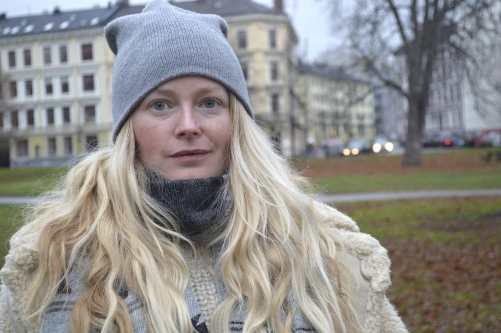 Marte Djupesland tar staheten i bruk og går fortsatt gjennom Sofienbergparken om kveldene. – Jeg tenker; søren heller, sier hun.