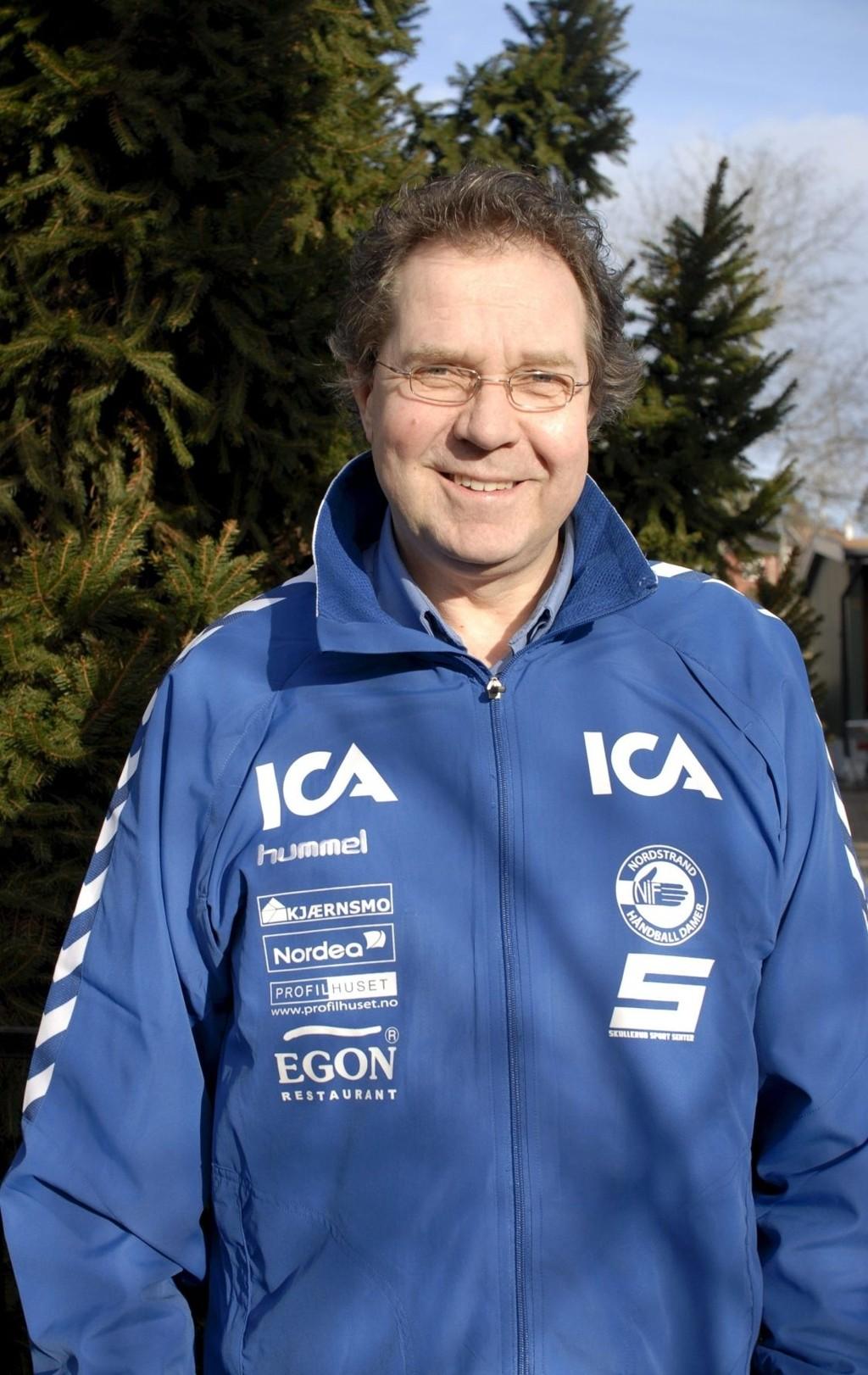GIKK BORT: Tidlig i forrige uke døde Sten Christian Hanssen, og håndballgruppa i Nordstrand mistet en av sine virkelig store ildsjeler.