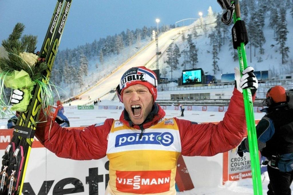 Martin Johnsrud Sundby spurtet (!) til seier i Kuusamo før jul. I OL er det nye muligheter.