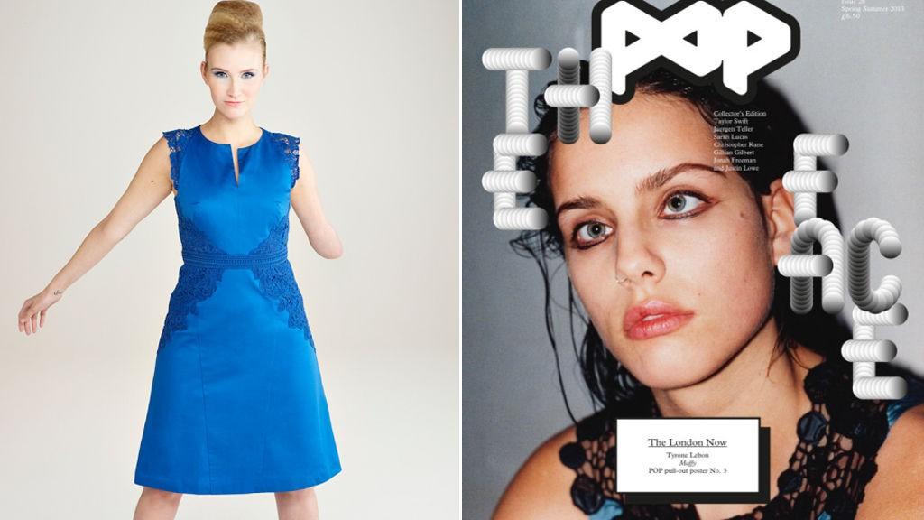 UTFORDRER SKJØNNHETSIDEALENE: Kelly Knox og Moffy ser ikke ut som «alle andre», likevel gjør begge to karriere som modeller.