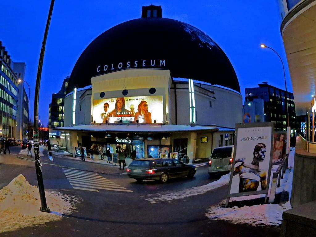 FLOTT: Colosseum kino får skryt for både sitt utseende og sine indre kvaliteter.