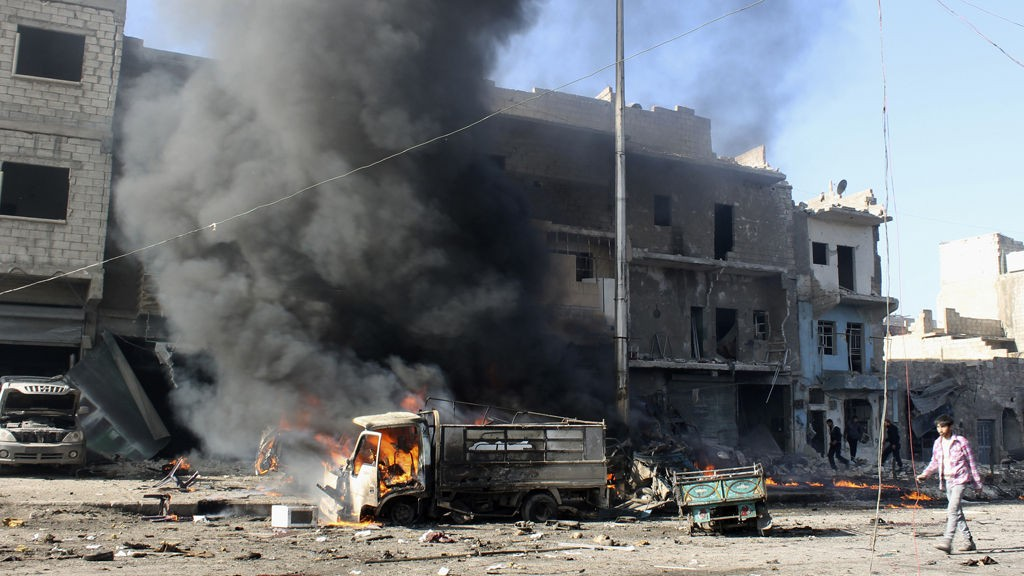 Flere hundre mennesker er blitt drept i den syriske byen Aleppo den siste tiden.